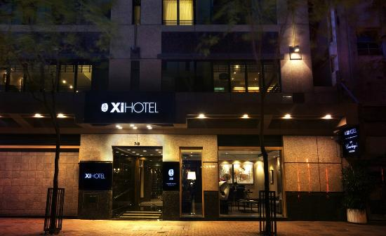 Xi Hotel Exterior Shot