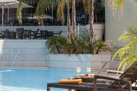 Galaxy Hotel Iraklio : Our Pool Deck