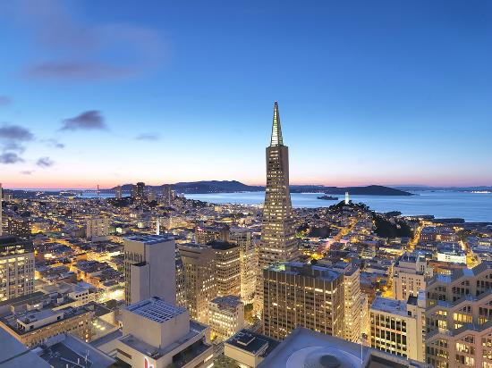 Mandarin Oriental, San Francisco: View of San Francisco from Hotel
