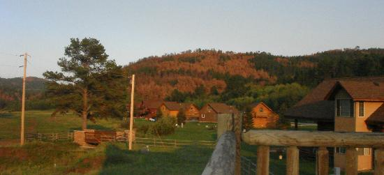 High Country Guest Ranch: Evening snap shot