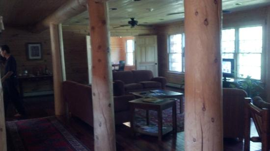 Carrabassett Valley, เมน: View to great room