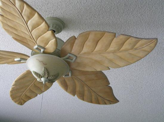 Crystal Sands Condominiums: Dirty dusty ceiling fans
