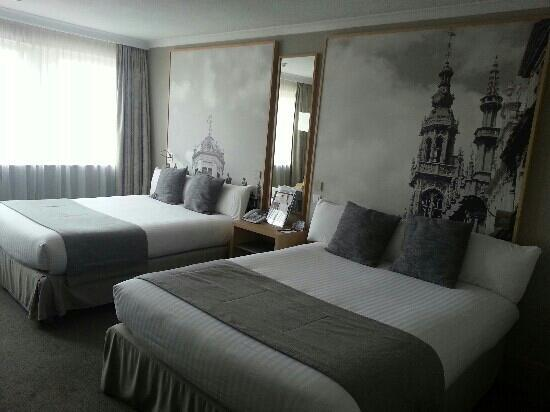 Mercure Brussels Center Louise: chambre privil?ge