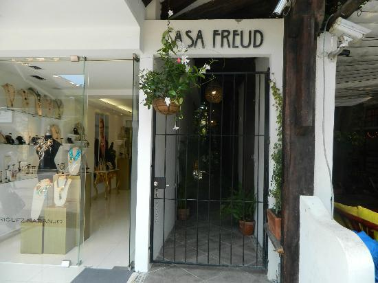 Hotel Posada Freud: Nueva entrada a Casa Freud