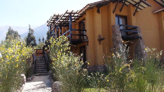 Inkallpa Valle Sagrado: Outside view of the rooms