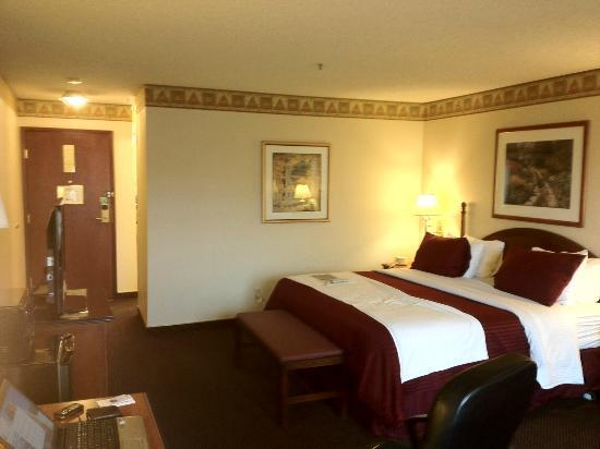 BEST WESTERN PLUS Gold Country Inn: Bed Area