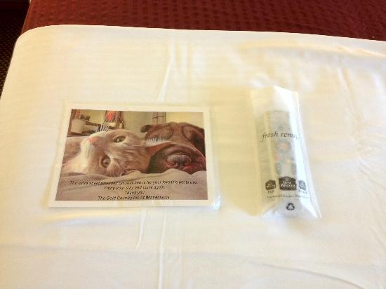 BEST WESTERN PLUS Gold Country Inn: Cute Touch for Pet Owners
