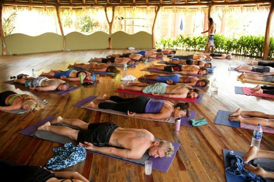 Costa Rica Yoga Spa: shavasana