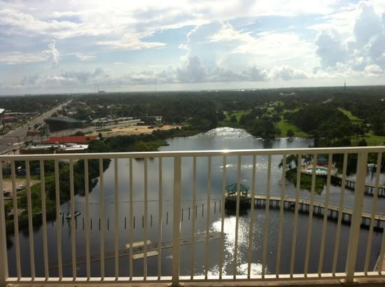 Laketown Wharf Resort: view from 14th floor