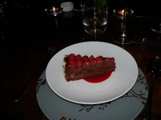 Fivehead, UK: Chocolate & Wineberry Torte