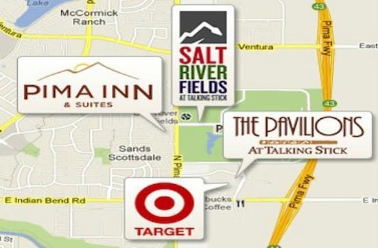 Days Inn And Suites Scottsdale North: Everything you need is close by