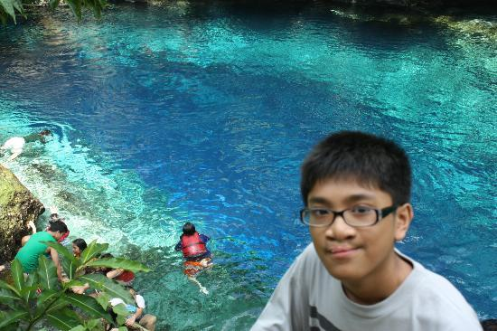 Enchanted River: deep blue