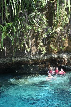 Enchanted River: other side