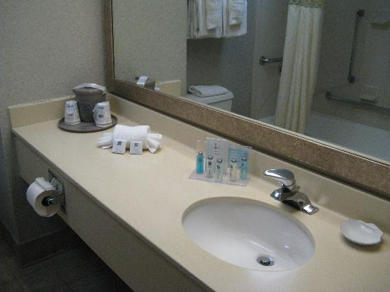‪‪Hampton Inn Secaucus-Meadowlands‬: Bathroom