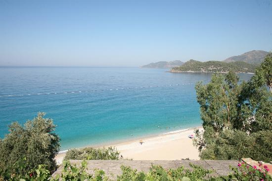 Beyaz Yunus Olu Deniz: view from our terrace