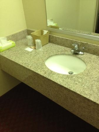 Super 8 Walterboro, SC: clean sink
