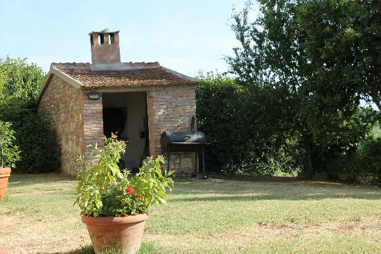 Podere Le Monache: hot house