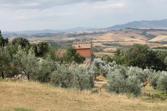 Podere Le Monache: a room with a view