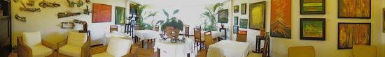 Gaia Hotel & Reserve: Art Gallery Dining Room