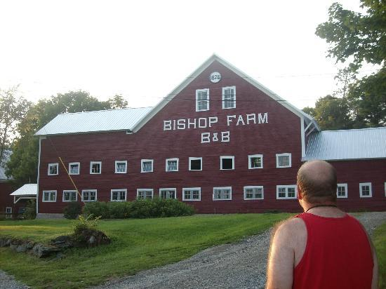 Bishop Farm Bed and Breakfast: barn