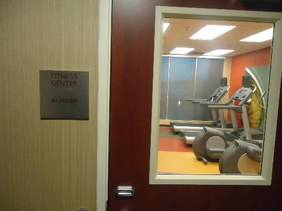 Courtyard Nashville Goodlettsville: main floor fitness center