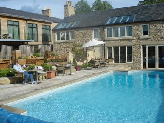 Feversham Arms Hotel & Verbena Spa: Jo poolside - just superb