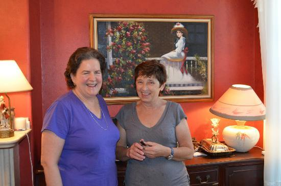 Aisling Bed and Breakfast: Dorothy and Dympna