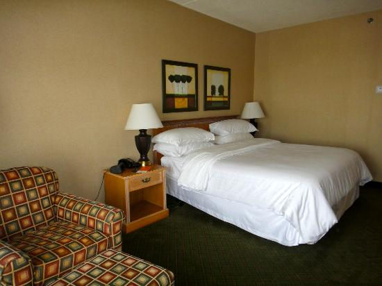 Sheraton Burlington Hotel and Conference Center: King room