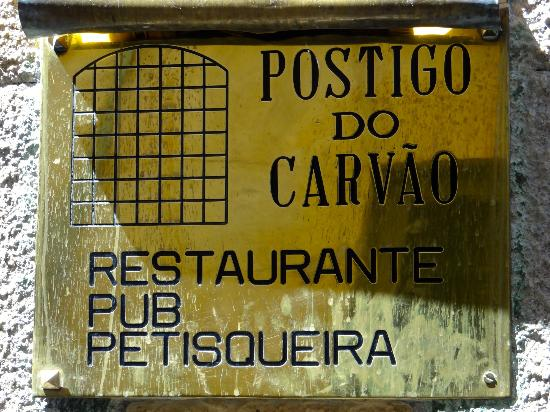 Postigo do Carvao Porto Postigo do Carvao la Plaque