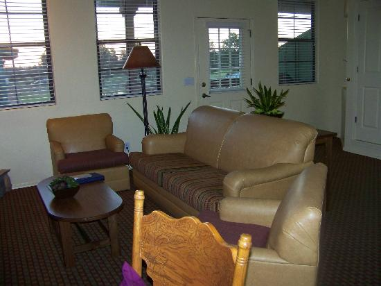 WorldMark Bison Ranch: living area