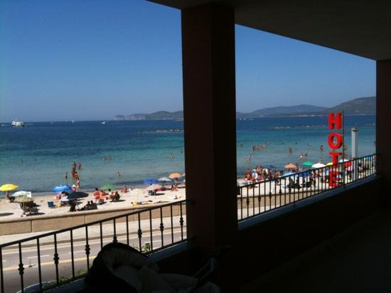 Sea Rooms Alghero: Vista sul mare