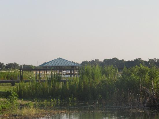 Lakeside Cottages: A view from lake shore