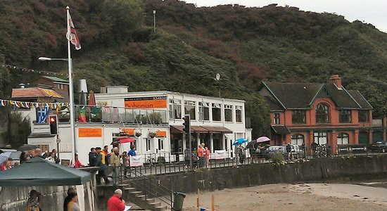 Port Erin, UK: Bohemian on RNLI day during August