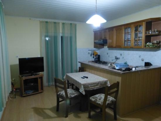 Apartments Komazin: room kitchen and dining area