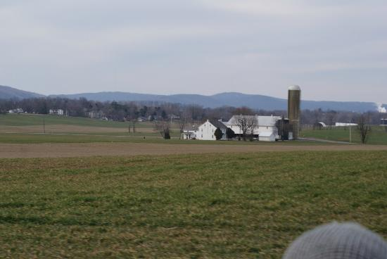 Green Acres Farm Bed and Breakfast: View of a farm from the hay ride