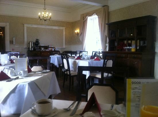Chirk, UK: Dining/breakfast room