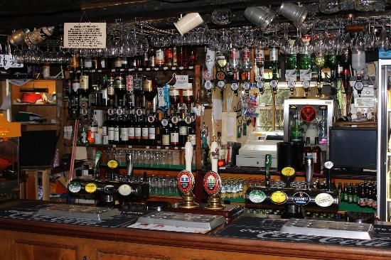 The Plough Inn at Ford: Bar