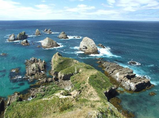 Kaka Point New Zealand  City new picture : Kaka Point, New Zealand: Nugget Point
