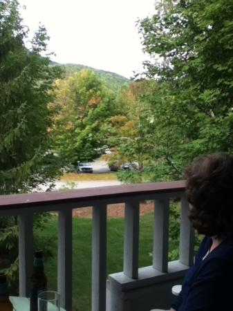 The Lodge at Lincoln Station Resort: view from second floor room balcony