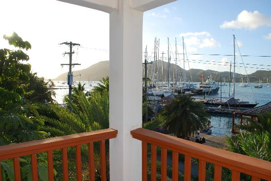 Antigua Yacht Club Marina Resort: View from our balcony