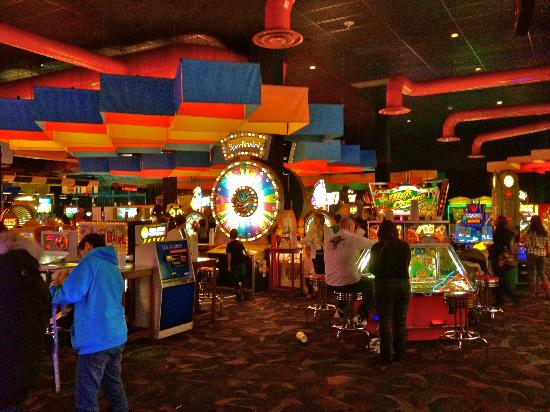 The Games Room In Dave Amp Busters Picture Of Dave And
