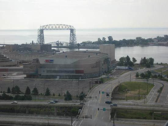 Radisson Hotel Duluth-Harborview: BREATHTAKING VIEWS
