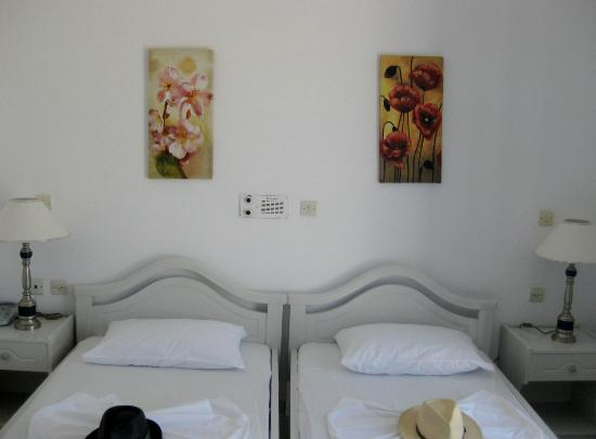 Melina Hotel: Twin room