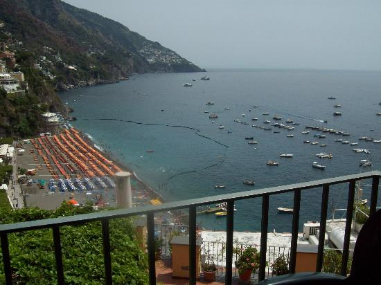 Casa Cosenza: View from our balcony