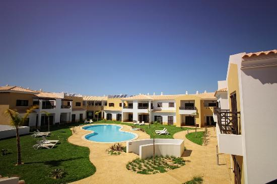 Aparthotel Sagres Time : Sagres Time - First floor inside balcony view