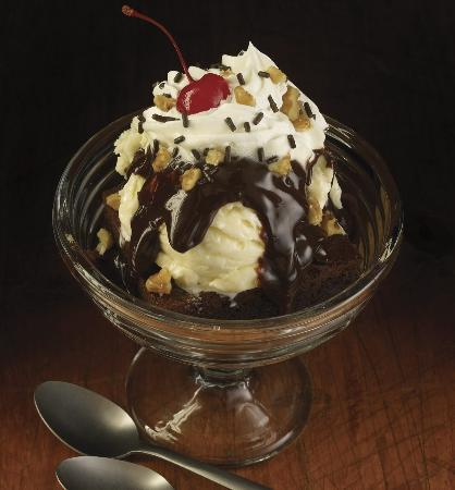 Hot Fudge Brownie Hard Rock Cafe