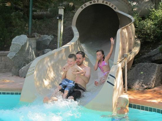 Club Intrawest - Whistler: Fun times on the slide!