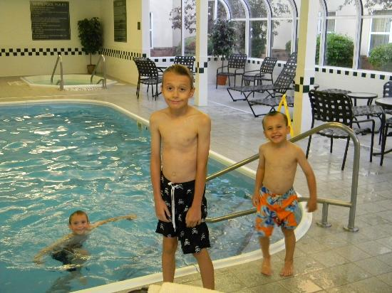 Homewood Suites by Hilton Toledo/Maumee: Small Indoor Swimming Pool