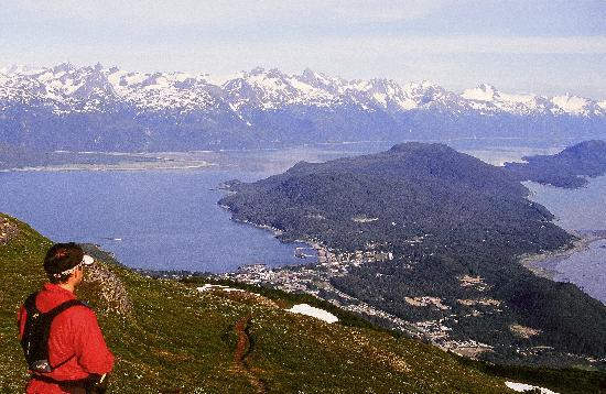 Haines, AK: View from Mt. Ripinsky - Photo by Andy Hedden