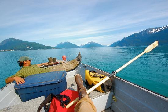 Haines, AK: Relaxing Day on the water - Photo by Andy Hedden